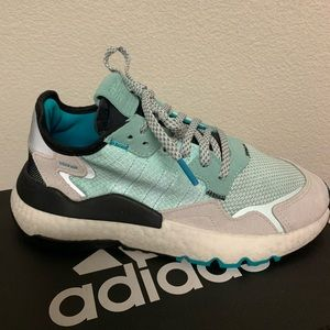 Adidas Nite Jogger Womans / Boys Ice mint color